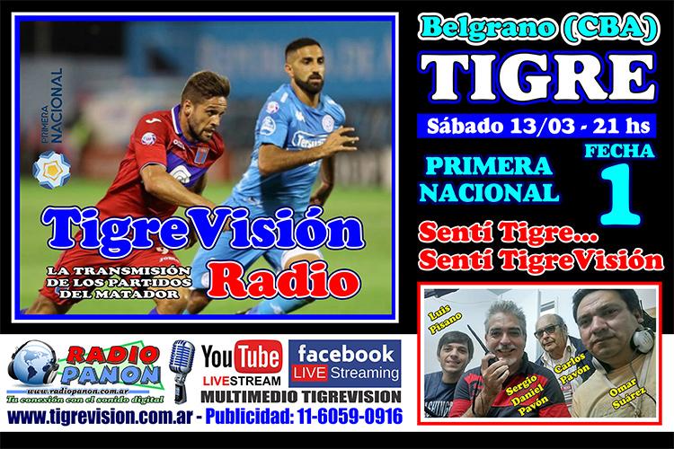El Matador debuta ante Belgrano