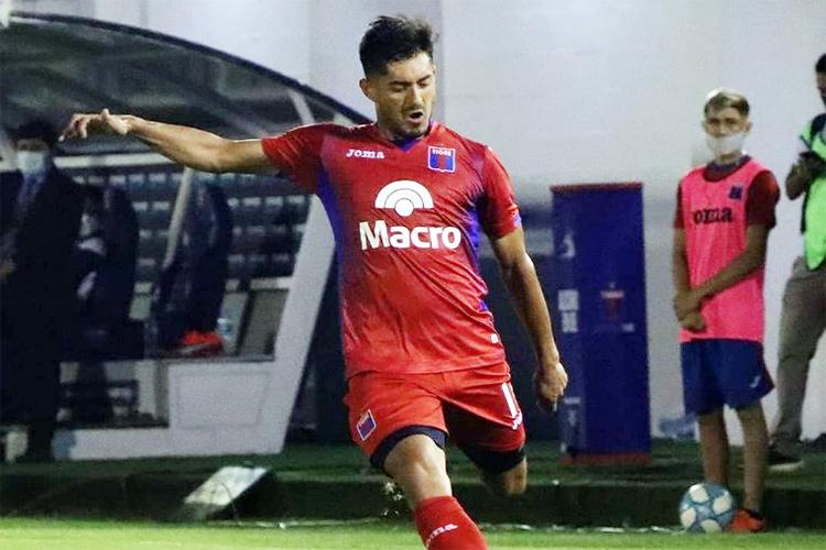 """Sebastián Prieto: """"De a poco, estoy tomando más confianza y recuperando el nivel que tenía"""""""