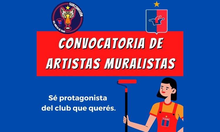 Convocatoria de artistas muralistas