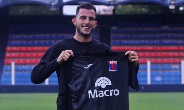 """Manuel Roffo: """"Estoy feliz de estar en Tigre"""""""