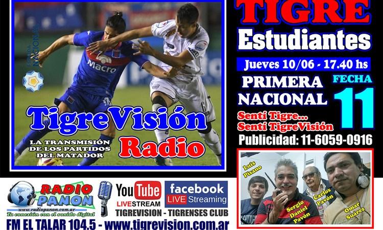 Tigre y Estudiantes, el duelo en el José Dellagiovanna