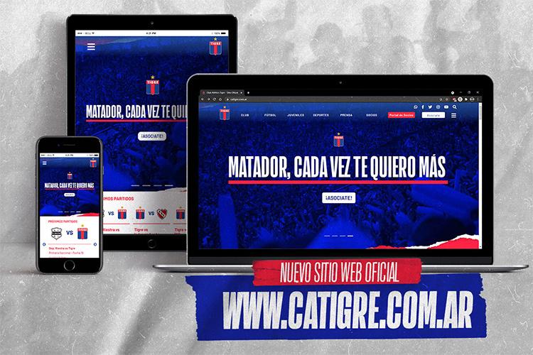 Nuevo sitio web oficial de la institución