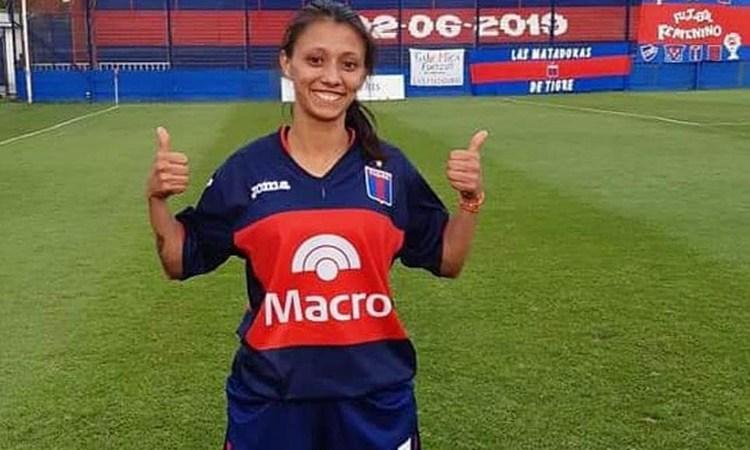 """Valeria Vasinger: """"Tenemos buen recambio y eso nos sirve mucho para el equipo"""""""