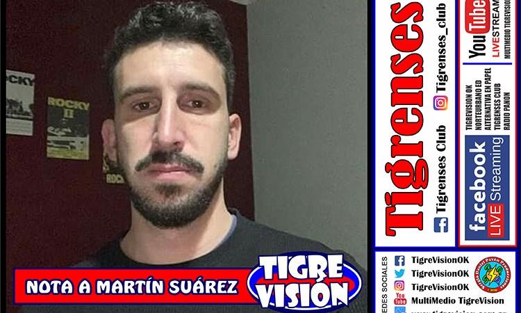 Martín Suárez estará en Tigrenses