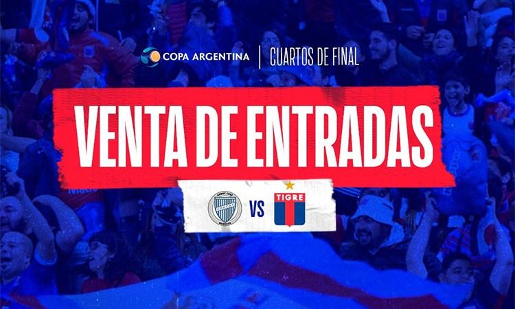 Arrancó la venta de entradas para la Copa Argentina