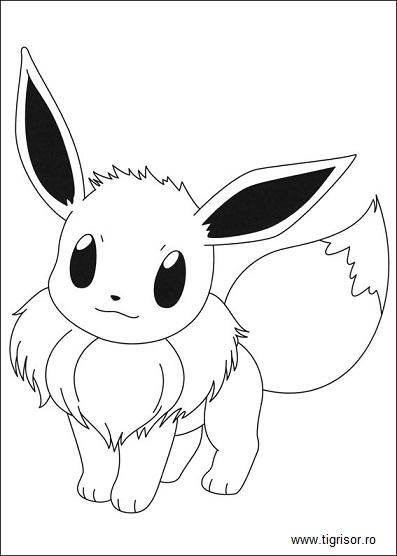 Pokemon Pikachu Si Prietenii Plansa De Colorat 9