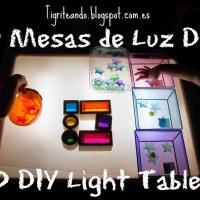10 formas de construir mesas de luz DIY