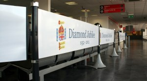 Tigrox queue management in use at Cardiff Airport