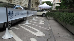 British Embassy Vienna makes use of Tigrox to manage outdoor visitor parking areas
