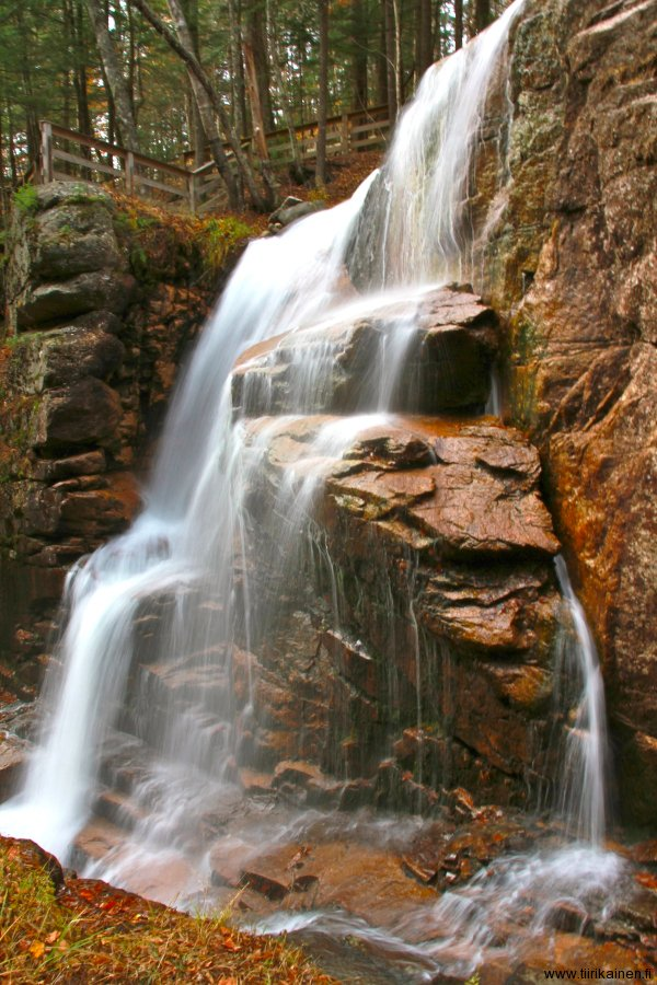 the flume in franconia notch