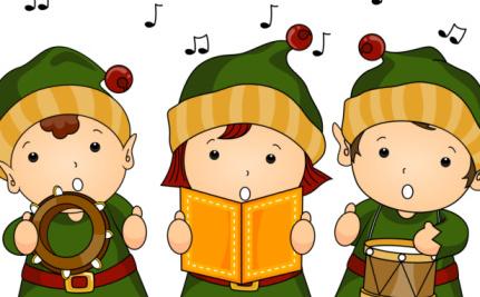 3 kerstzangertjes
