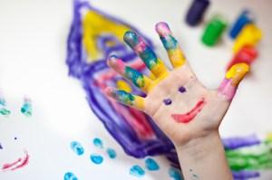 Kindervingerverf