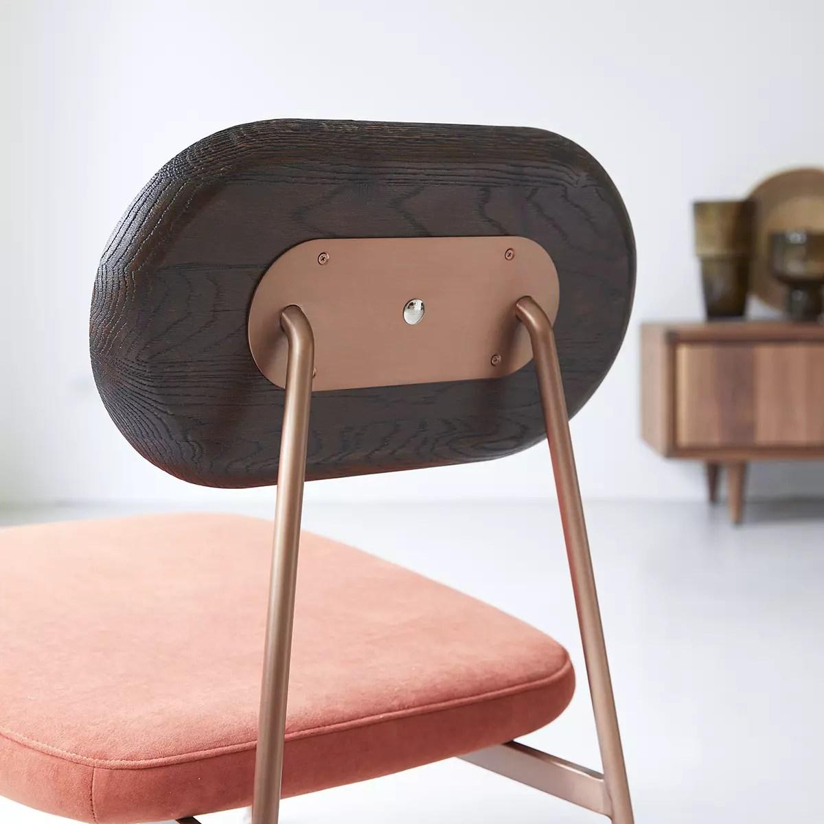 fauteuil bas yutapi sienna en chene massif