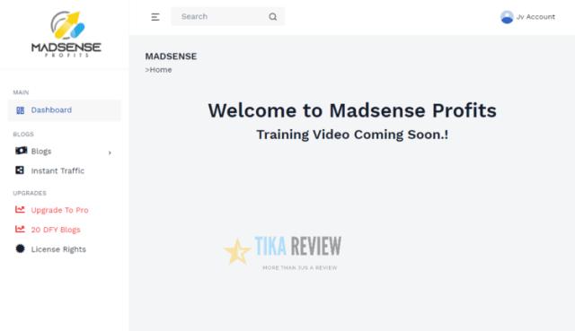 Madsense Profits Demo