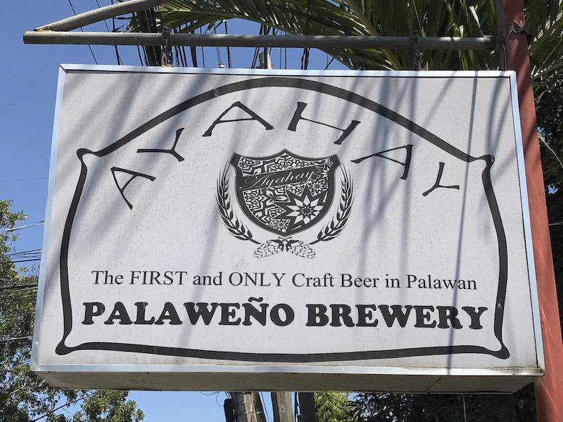 Ayahay Palaweño Brewery in Puerto Princesa, Palawan