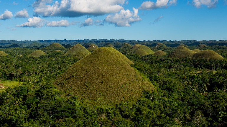Chocolate Hills in Bohol   Best Places to Visit in the Philippines