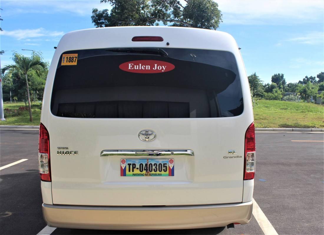 Eulen Joy Transport Van Back
