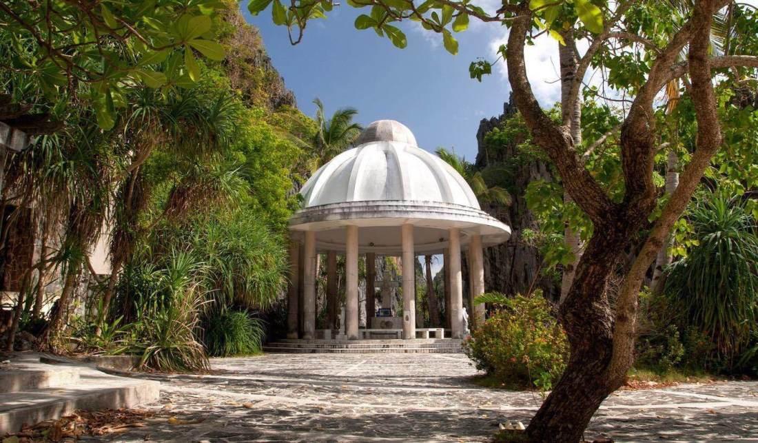 Matinloc Shrine in El Nido, Palawan