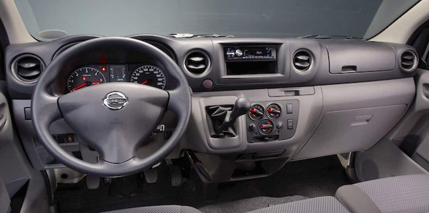 Nissan NV350 Dashboard And Front