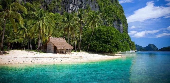 Pinagbuyutan Island in El Nido, Palawan