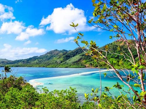 Snake Island (Vigan Island) in El Nido, Palawan