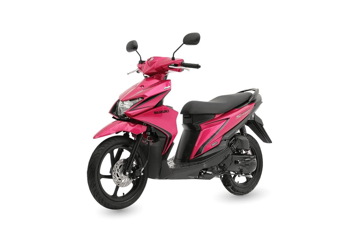 Suzuki Skydrive Scooter Turned