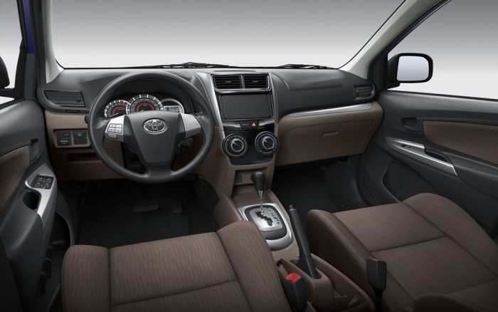 Toyota Avanza Interior Front