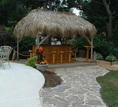 Tiki Huts for Sale - TikiKev on Backyard Tiki Bar For Sale id=28989