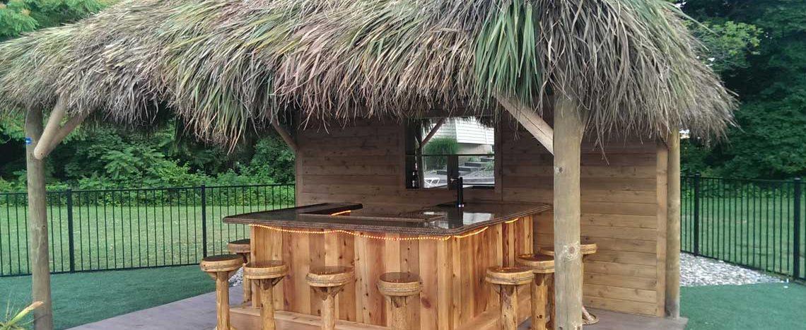 tiki bar custom build tiki huts
