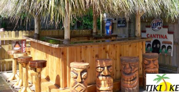 TikiKev.com: Tiki Bars, Huts, Tables and Accessories For Sale on Backyard Tiki Bar For Sale id=74014