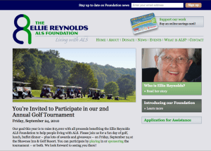 Living with ALS - The Ellie Reynolds ALS Foundation