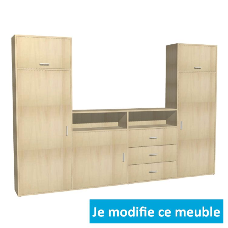 de garage sur mesure a configurer