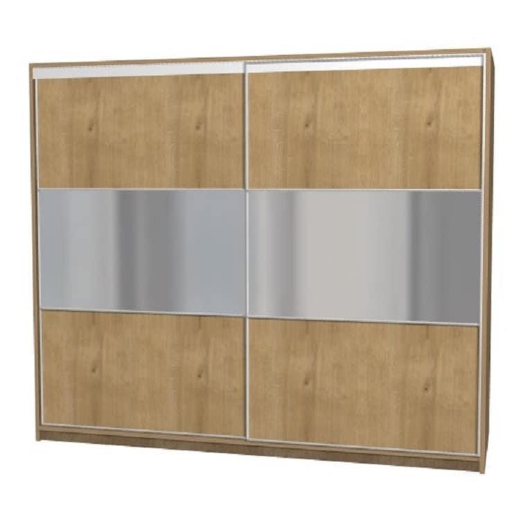 armoire a portes coulissantes miroir sur mesure