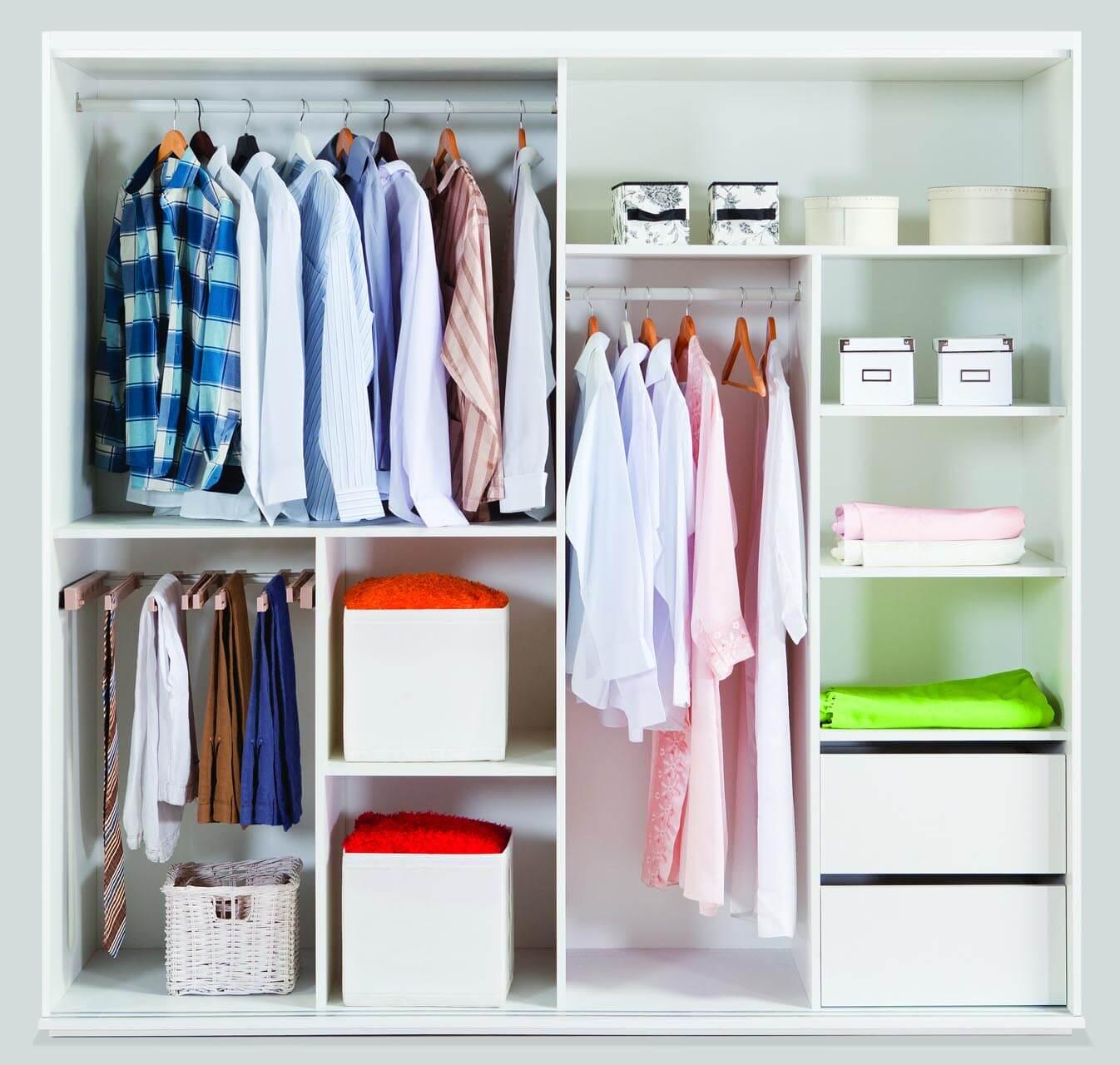 fabriquer son dressing armoire sur