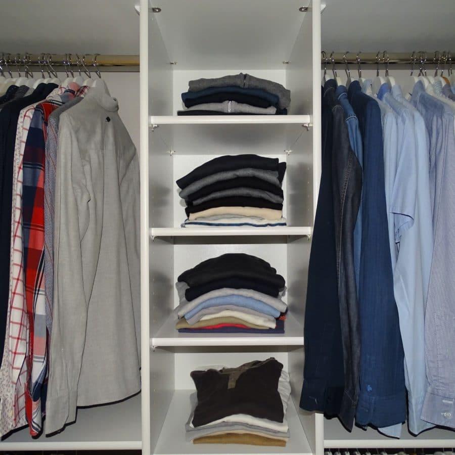 dressing sans portes sur mesure