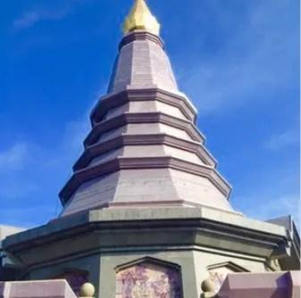 Stupa on Doi Inthanon Mountain