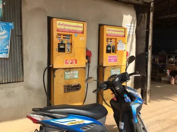 DIY Petrol Pump