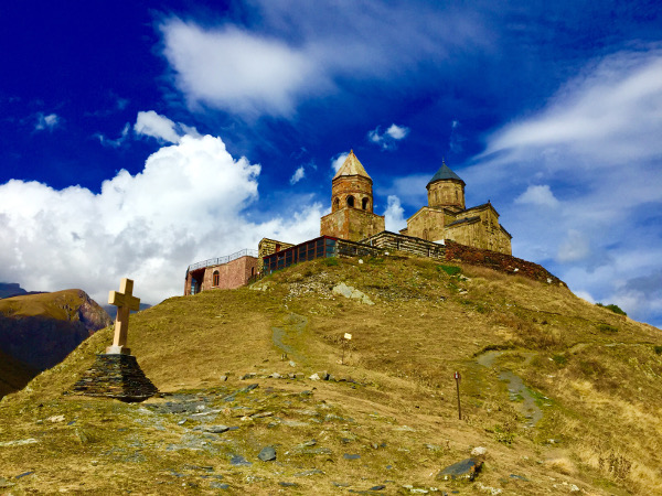 kazbegi church