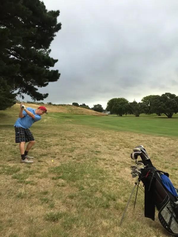 The 9th at Waikanae Golf Club