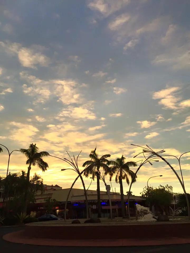bundaberg sunset