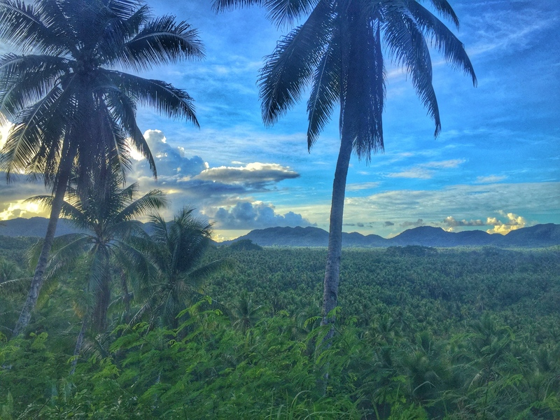 one of the best views in siargao