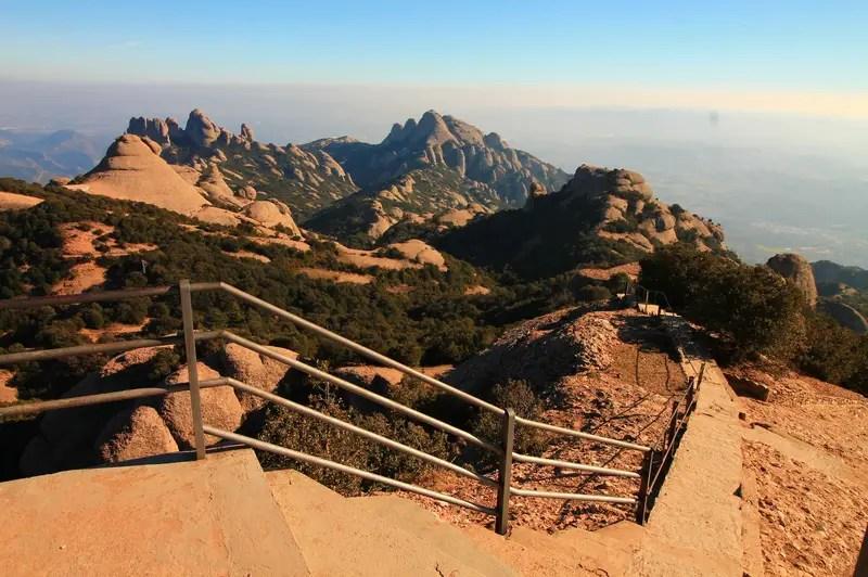montserrat hiking views