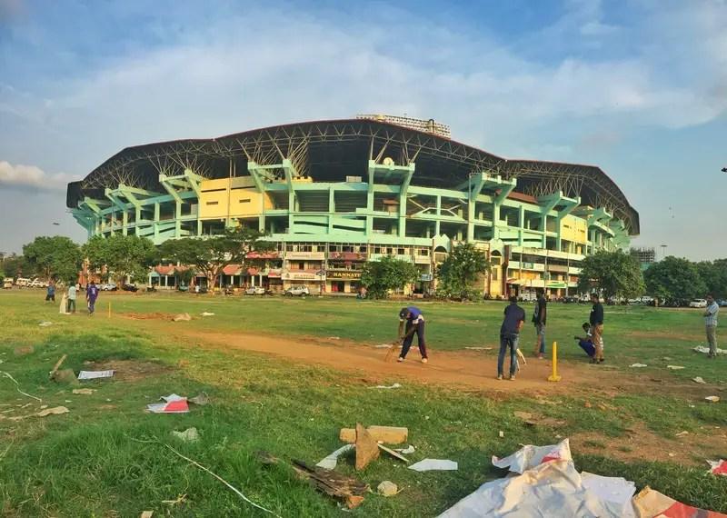 local cricket in kochi stadium