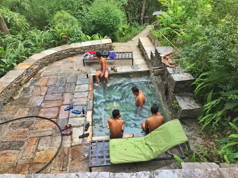 plunge pool at the last resort