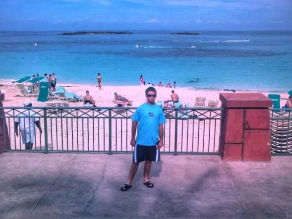 boss pose at Atlantis