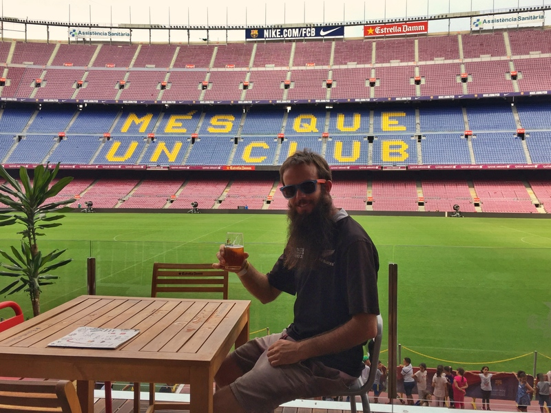 beer prices at barcelona stadium are 3.50
