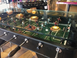 foosball at camp nou