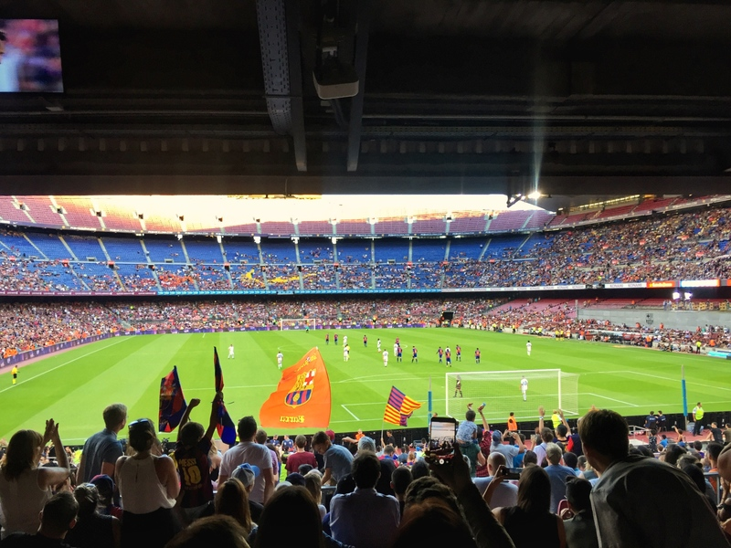 barcelona exhibition match at camp nou 2017