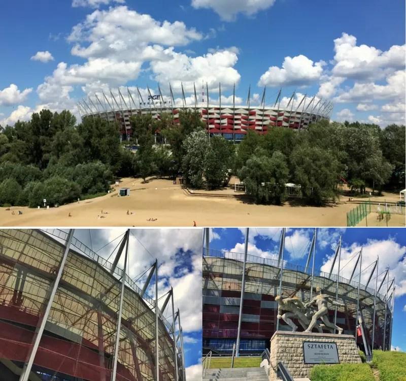 outside of the national stadium