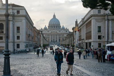 there is no accommdation in vatican city